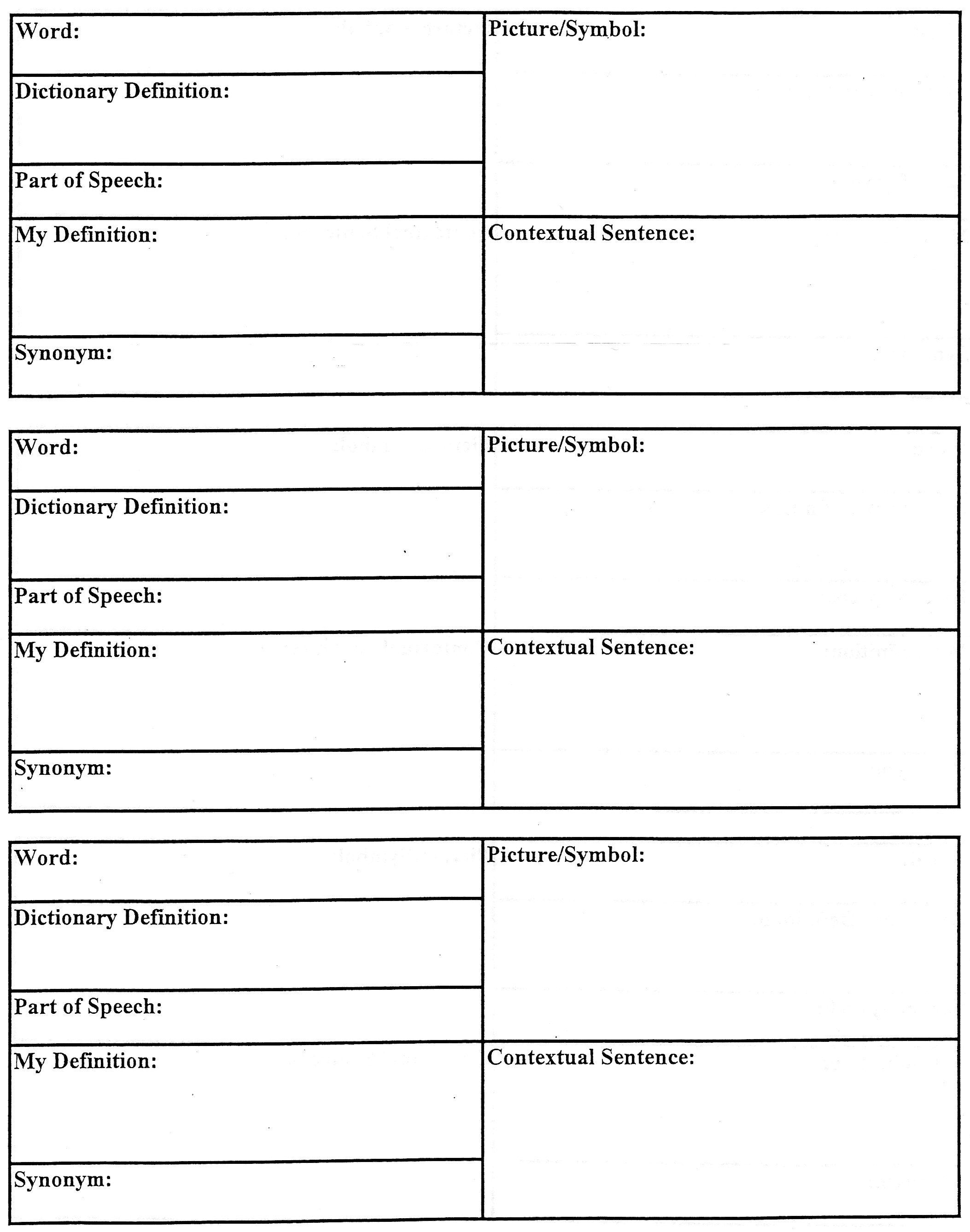 Worksheets American Literature Worksheets american literature english ii resources mrs heberts vocabulary organizer jpg